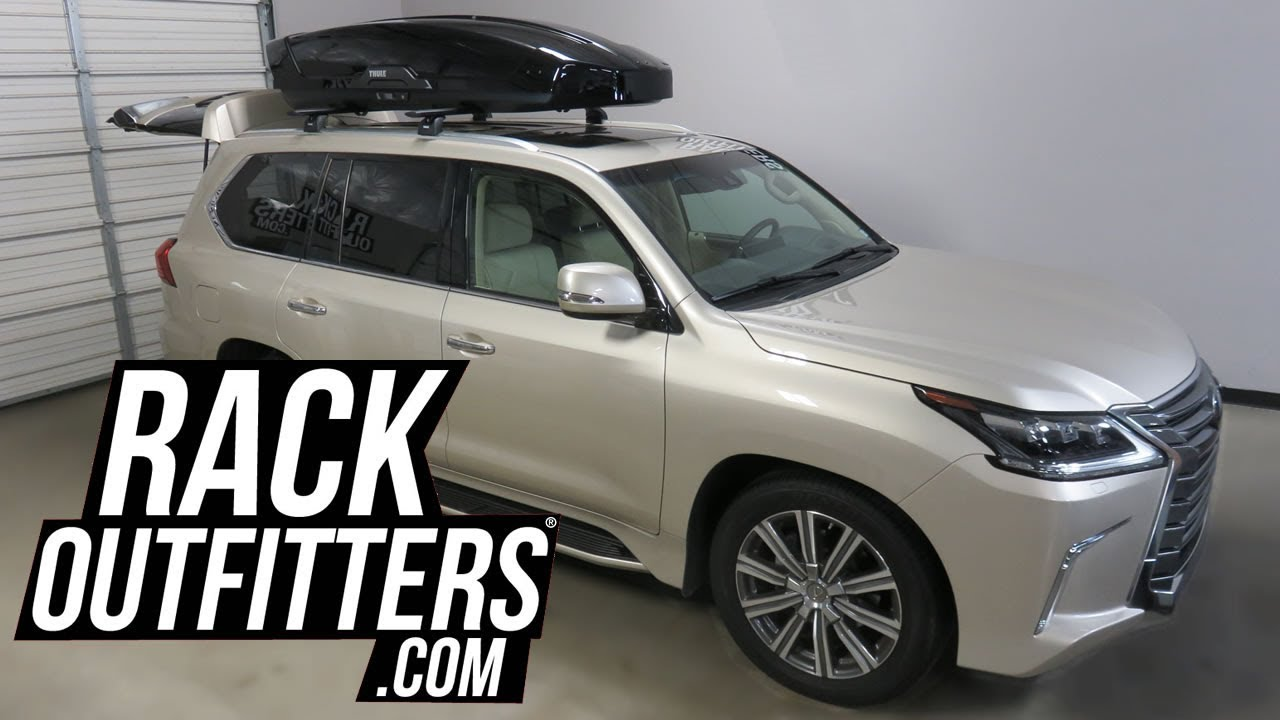 Lexus Lx570 With Thule Motion Xt Xxl 22 Cubic Foot Roof