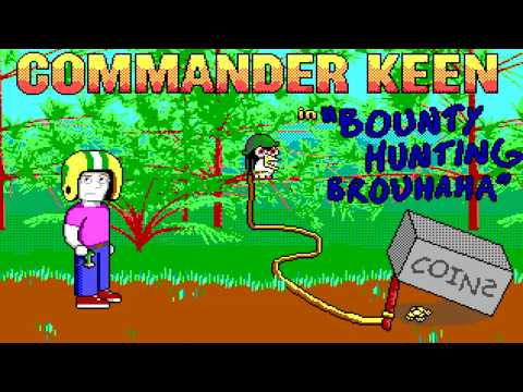 Commander Keen: Bounty Hunting Brouhaha (2019, MS-Dos) [Playthrough]