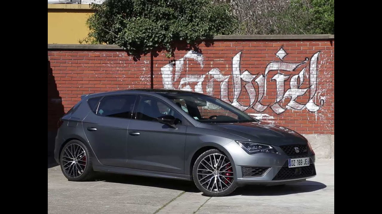 essai seat leon cupra dsg6 2016 youtube. Black Bedroom Furniture Sets. Home Design Ideas