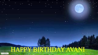 Avani  Moon La Luna - Happy Birthday