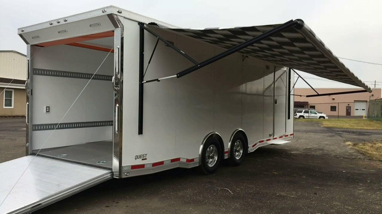 how to build aluminum trailer cabinets