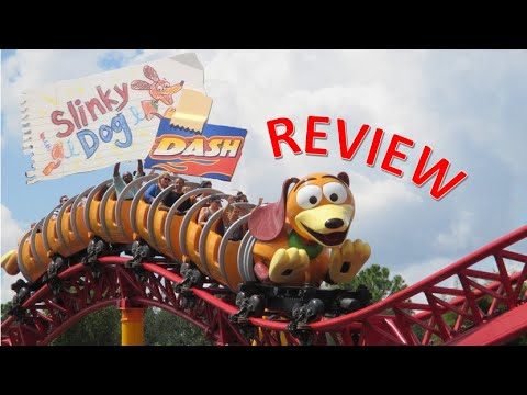 Slinky Dog Dash Review, Disney's Hollywood Studios Launched Roller Coaster