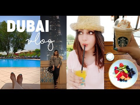 VLOG | I WENT TO DUBAI! | First Time Travelling ALONE! | GLOSSIPS