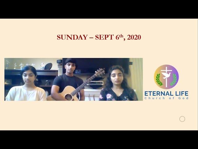 Sunday Worship Set - 8/6/2020