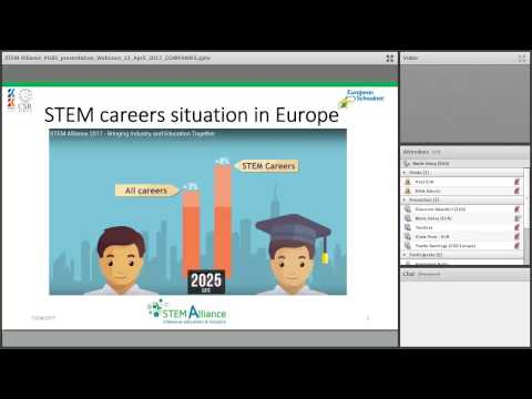 STEM Professionals Go Back to School Webinar - For companies and professionals
