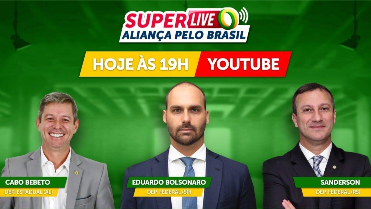Super Live Aliança Pelo Brasil - 01/07 19h