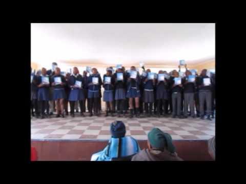 Sefapanong Primary School Solar Lights Project 2016