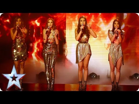 Zyrah Rose set fire to the stage with Adele hit  SemiFinal 3  Britain's Got Talent 2016