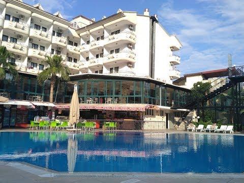 Обзор отеля Pineta Club Hotel 4* Турция Мармарис 2017 Отель, Номера, Еда, Инфраструктура.