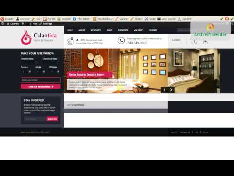 How to set up Calatica- Hotel Booking System WordPress Theme?