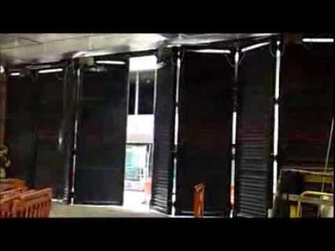 Bi Folding Door Automation using DSG gate drive systems Part 1 & Bi Folding Door Automation using DSG gate drive systems Part 1 - YouTube