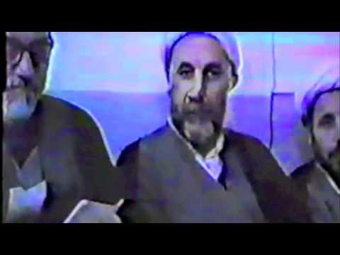 Rare footage of Grand Ayatullah Al-Khoei مقطع نادر للإمام الخوئي قدس سره