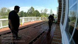 COMO SE HACE POWER WASH A UN DECK