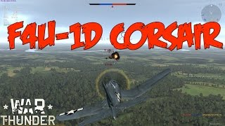war thunder gameplay f4u 1d corsair realistic battle duck hunting
