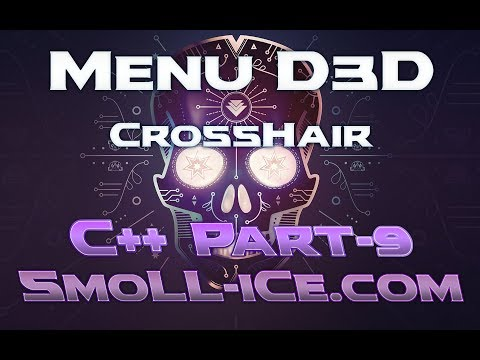 C++] Criando menu D3D Hack Part9 - Crosshair