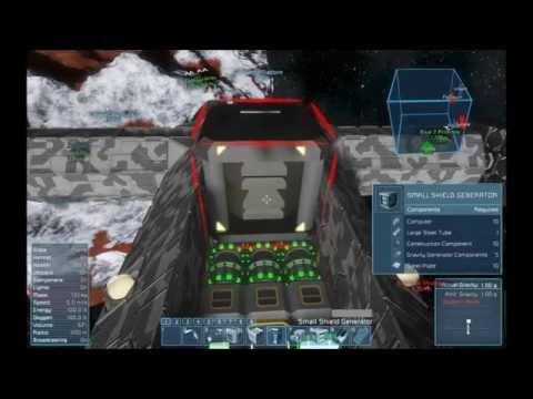 Space Engineers   S1 E16 Combat Vessel