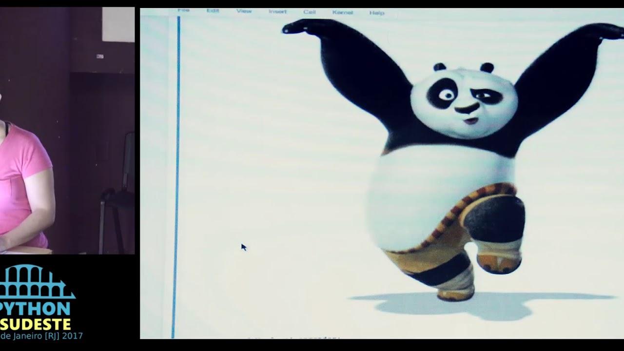 Image from Palestra: Andressa Sivolella - Faça kung-fu com Pandas!