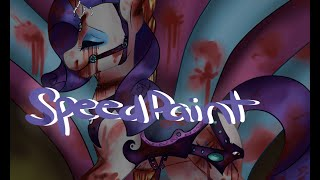 Rarity Speedpaint :Carousel (warning bloody)