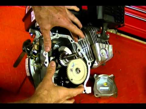 How a Small Engine Crankcase Breather Works and How to Quick Check the Breather Valve