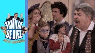 Una familia de 10: ¡Plácido corre a Arnoldo y Plutarco de la casa! | C6 - T2 | Distrito Comedia