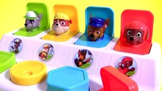 nickelodeon paw patrol pop up pups surprise poppin toy with marvel mashems fashems toys surprise