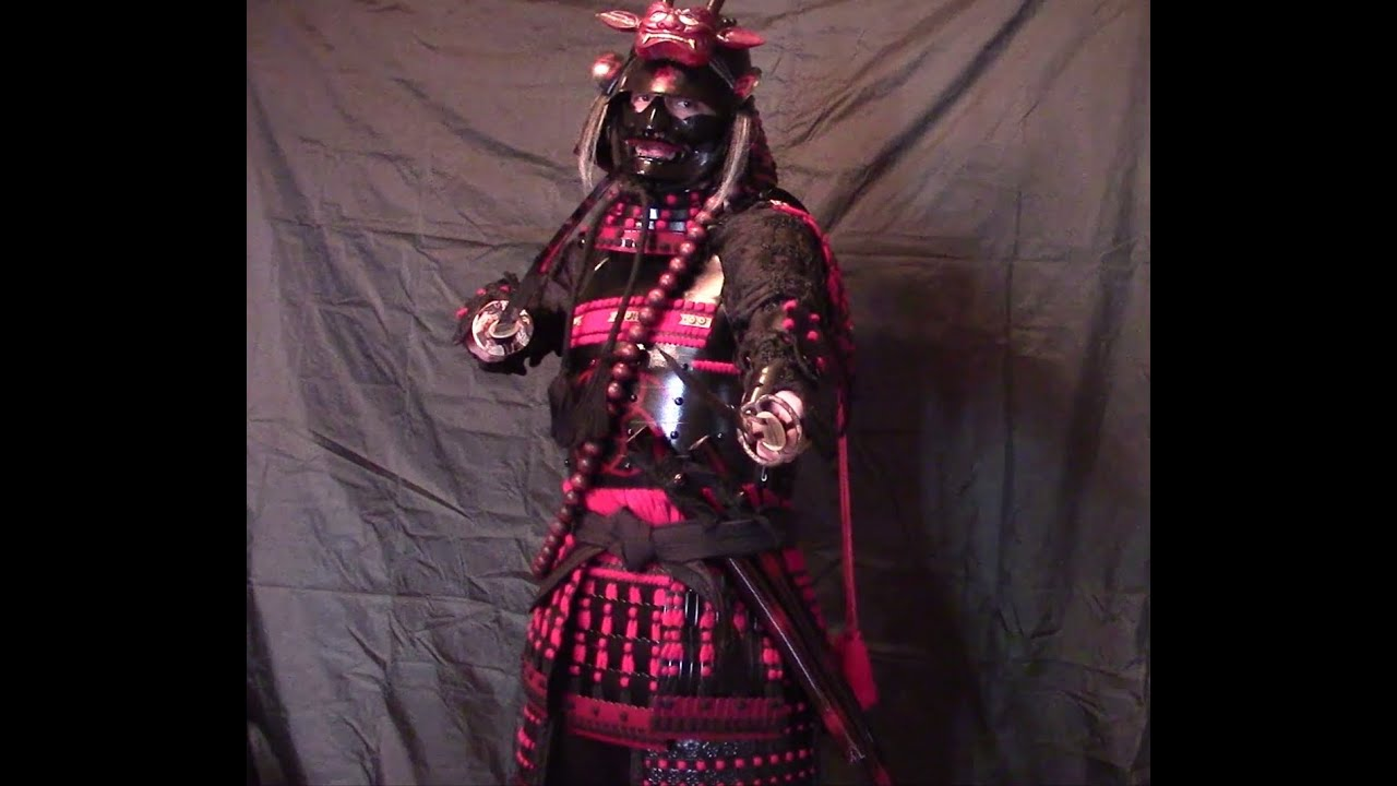 how to put on samurai armor traditionally or by yourself