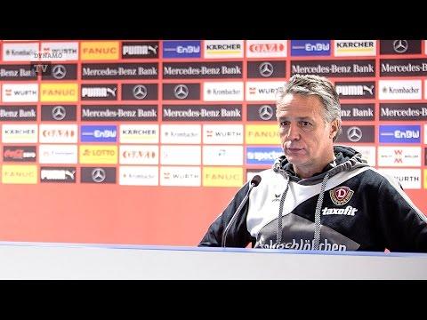 20. Spieltag | VFB - SGD | Pressekonferenz nach dem Spiel