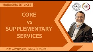 Core Vs. Supplementary Services