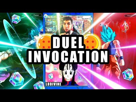 Duel INVOCATION 2 ANS DRAGON BALL LEGENDS vs LUDIVINE pour encore VEGETTO BLUE