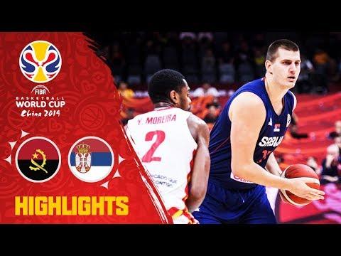 Angola v Serbia - Highlights - FIBA Basketball World Cup 2019