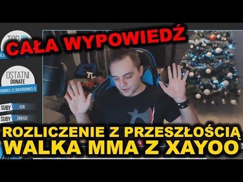 ROZLICZENIE Z PRZESZŁOŚCIĄ, MMA Z XAYOO (Cała wypowiedź, live z 02.01.2018)