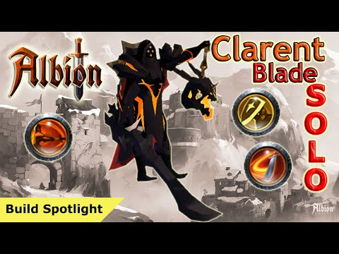 Clarent Sword Solo Dungeon Speed Clear | Albion Online