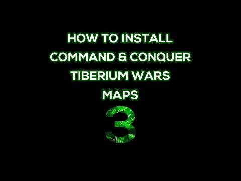 How to Install C&C 3 Tiberium Wars Maps