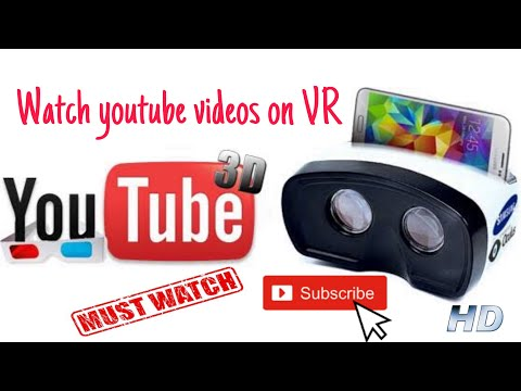 How to watch youtube in VR mode