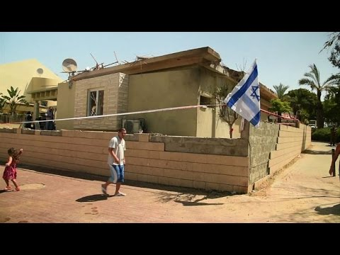 Hamas rocket hits private house in Israel