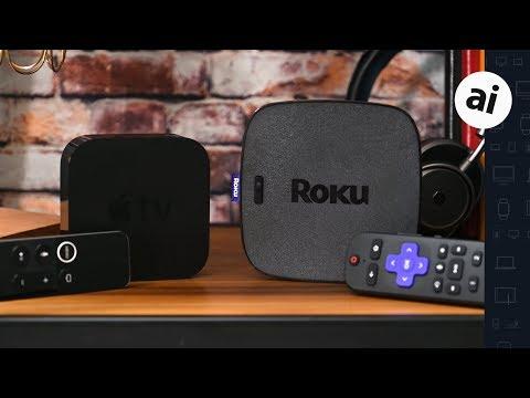 Apple TV 4K VS (2019) Roku Ultra -- 4K Streaming Showdown!