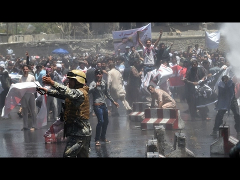 Afghanistan: Kabul anti-government protest turns deadly