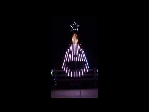 Musical Christmas light show to The Grinch for 12 CCR tree