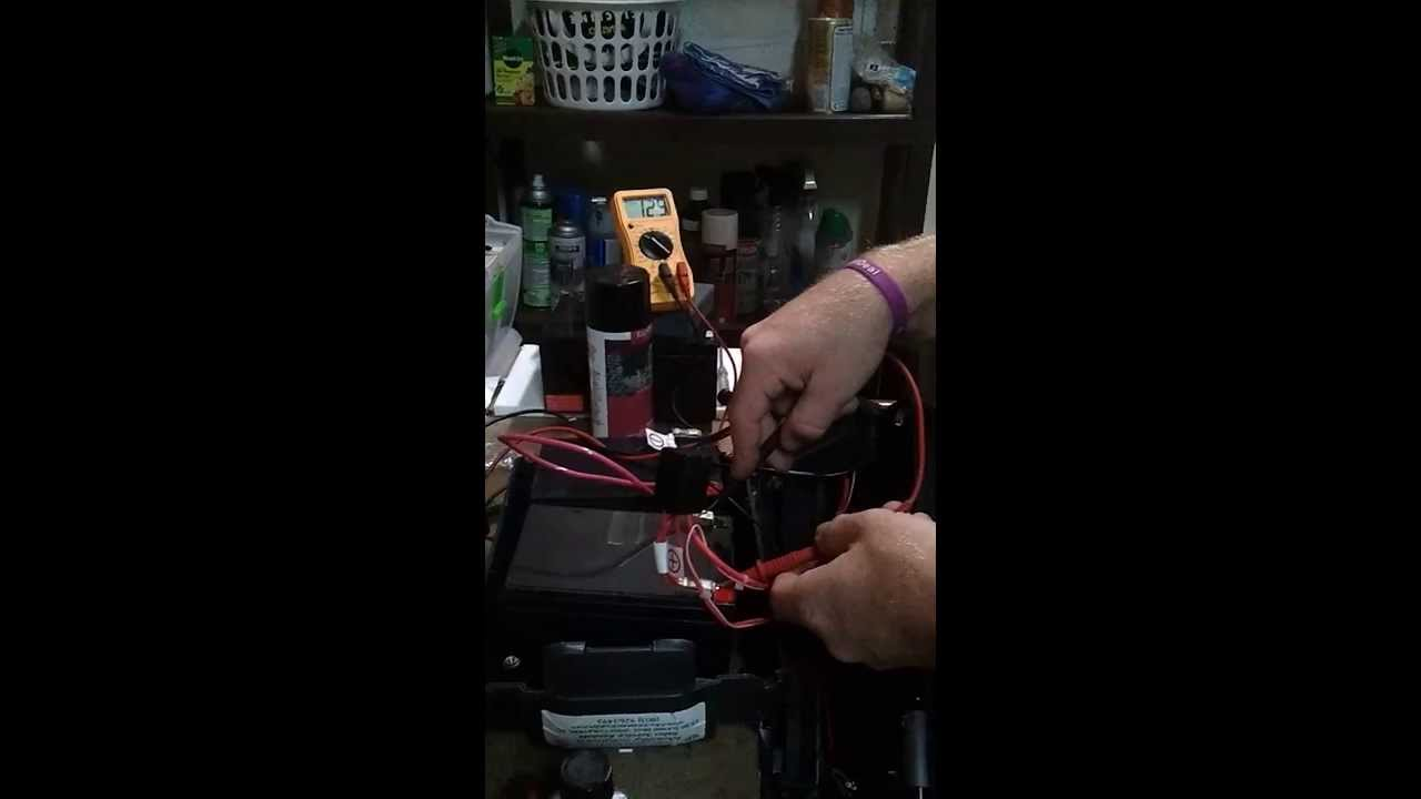 Mobility Scooter Battery Charger Test Youtube Rascal 600 Wiring Diagram