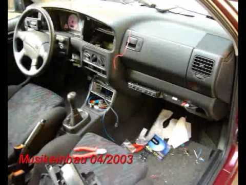 Vw golf 3 tdi umbau tuning youtube for Lederen interieur golf 4