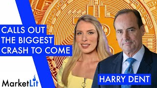 "Harry Dent: Bitcoin is ""Fools Gold"" and heading for 95% crash by 2022"