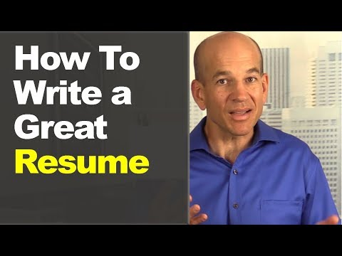 How To Write A Great Resume In 60 Minutes (Includes Sample Templates)