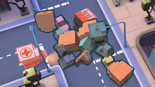 I caused as many car crashes as possible in Urban Flow