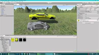 Creating a racing game in unity 3d very fast  - Part 1 create and control the car
