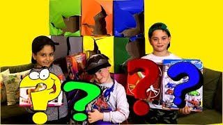 Giant Smash Box Surprise Kids Toys with Sado and his friends