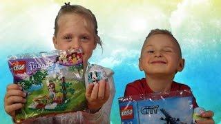 Lego City 30222 | Lego Friends 30108 opening | Kinder |Zaini Disney surprise eggs
