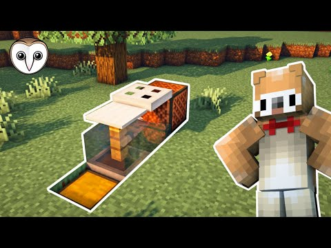 Minecraft: AFK Fish Farm | Tutorial (NO AUTO CLICKER!) (1.15+)