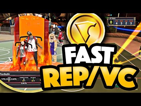 FASTEST WAY TO GET VC & REP WITHOUT USING A GLITCH! NBA 2K17 MYPARK GAMEPLAY