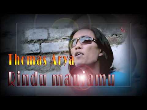 Thomas Arya - Rindu Manjamu ( Lirik )