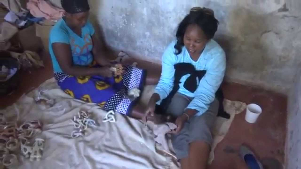 Pendo Gifts Kisii Soapstone Kisii Women Sanding The